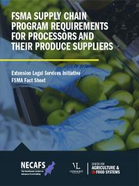 Supply Chain Program Fact Sheet Cover